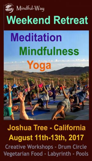 meditation and yoga retreat weekend mindful-way So California